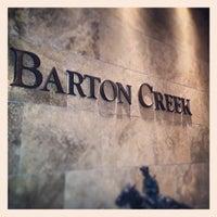 Photo taken at Barton Creek Resort & Spa by Jerome P. on 5/9/2013