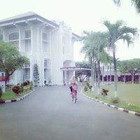 Photo taken at Kantor Pusat Penelitian Kelapa Sawit (PPKS/RISPA) by Qory I. on 7/5/2013