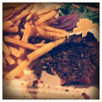 Photo taken at The Steakhouse by Kristin S. on 10/21/2012