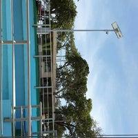 Photo taken at Parque Central de La Cruz by Jona J. on 7/4/2015
