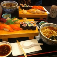 Photo taken at Sushi Boy by Lucy C. on 11/17/2012