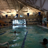Photo taken at Silliman Family Aquatic Center by Mila D. on 3/29/2014