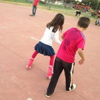 Photo taken at Parque La Paz by Cristina T. on 1/26/2013