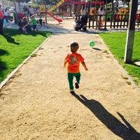 Photo taken at Parque La Paz by Cristina T. on 6/3/2014