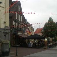 Photo taken at Markt Groenlo by Maarten V. on 6/19/2014