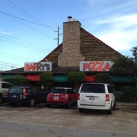 Photo taken at Barry's Pizza by Alexandra on 7/24/2012