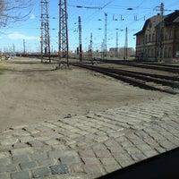 Photo taken at Rákosrendező vasútállomás by Nemeth M. on 3/12/2012