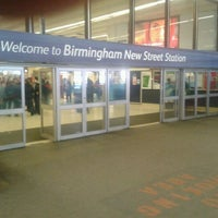 Photo taken at Birmingham New Street Railway Station (BHM) by Dek H. on 2/25/2012