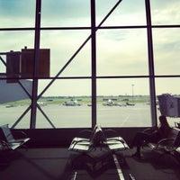 Photo taken at Terminal A by Mariusz M. on 8/8/2013