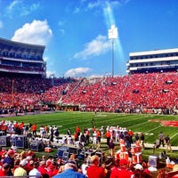 Photo taken at Vaught-Hemingway Stadium by Scott S. on 10/14/2012