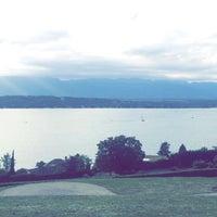 Photo taken at Cologny view by Asma Bogari on 8/29/2016