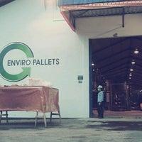 Photo taken at PT Enviro Pallets Bali by Gusti Ayu Devi N. on 3/24/2013