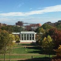 Photo taken at Johns Hopkins University Gilman Hall by Jodi B. on 10/25/2015