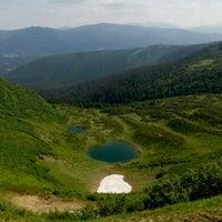 Photo taken at Озеро Ворожеська by Mykola K. on 6/25/2017
