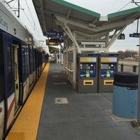 Photo taken at Fort Snelling LRT Station by Kurst H. on 3/16/2016