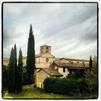 Photo taken at Abbazia di Farfa by Francesco C. on 1/4/2013