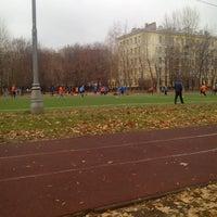 Photo taken at Футбольное поле by Alex on 11/1/2014