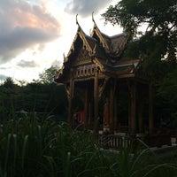 Photo taken at Japanischer Garten by Anna S. on 7/15/2014