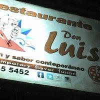Photo taken at Restaurante Don Luis by Maurilio N. on 5/11/2014