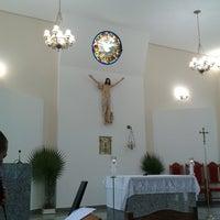 Photo taken at Igreja Catolica - Comunidade Sant'Ana by Thiago O. on 4/13/2014
