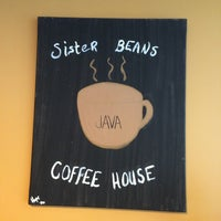 Photo taken at Sister Beans Coffee House by Kurt M. on 5/10/2014