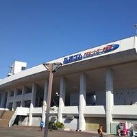 Photo taken at Sendai City Athletic Stadium by アスラン on 11/3/2017