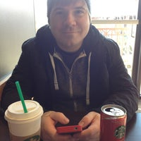 Photo taken at Starbucks by Amanda W. on 1/19/2013