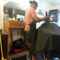 Photo taken at Thorton's Barber Shop by Atom C.R. F. on 6/1/2013