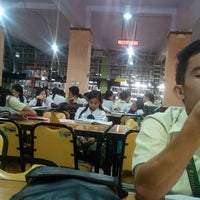 Photo taken at University of San Jose - Recoletos Library by Jovito B. on 7/17/2014