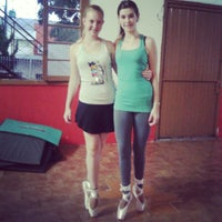 Photo taken at Academia power dance by Bruna L. on 4/4/2014