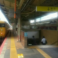 Photo taken at 松江駅 3-4番ホーム by Toshiaki S. on 10/12/2016
