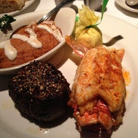 Photo taken at Steve Fields Steak and Lobster by Christopher P. on 10/27/2012