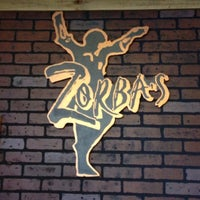 Photo taken at Zorba's Greek Cafe by Christopher P. on 10/21/2012