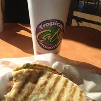 Photo taken at Tropical Smoothie Cafe by Marina A. on 11/2/2012