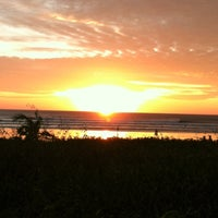 Photo taken at Playa Guiones by Kristy B. on 11/25/2012