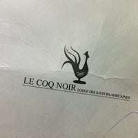 Photo taken at Le Coq Noir by Anna Q. on 9/12/2016