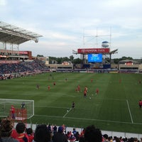 Photo taken at Toyota Park by Alicia on 6/9/2013