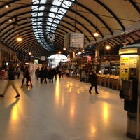 Photo taken at Newcastle Central Railway Station (NCL) by Philip T. on 12/22/2012