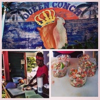Photo taken at Queen Conch by Josh A. on 12/14/2013