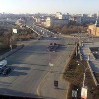 Photo taken at Крыша Альфа-банк by Мария Н. on 4/13/2014