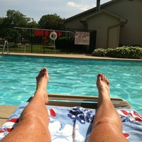 Photo taken at Sawmill Woods Condos Pool by Krystal S. on 6/5/2013