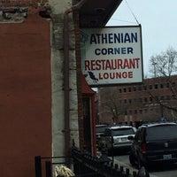 Photo taken at Athenian Corner by Justin W. on 4/7/2014