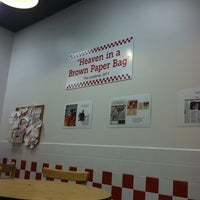 Photo taken at Five Guys by Justin W. on 8/29/2013