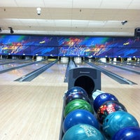 Photo taken at Brunswick Zone Lowell Lanes by Justin W. on 2/12/2013