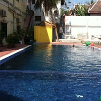 Photo taken at Downtown Siem Reap Hotel by Nick M. on 2/10/2013