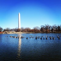 Photo taken at Constitution Gardens by Felix N. on 1/19/2013