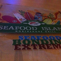 Photo taken at Blackbeard's Seafood Island by Jewel L. on 3/1/2013