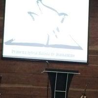 Photo taken at Primeira Igreja Batista de Diamantino by Bianca C. on 11/23/2014