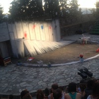 Photo taken at Υπαίθριο Θέατρο Φρουρίου Τρικάλων by Garagounis N. on 7/8/2014