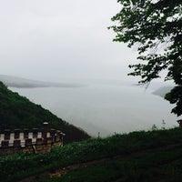 Photo taken at Непоротовский Свято-Николаевский мужской пещерный монастырь by Маріна М. on 5/4/2014